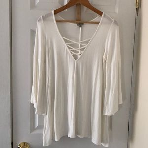 Urban Outfitters Ivory Top